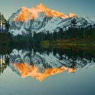 Shuksan Sunset, Picture Lake