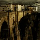 Ronda Under Cloudy Skies