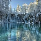 Winter on Plitvice
