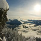 Mount Si Summit View in January