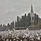 old church after snowfall (2)