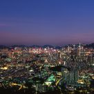 Hong Kong Night Panorama