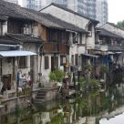 Houses along canals, Shaoxing city