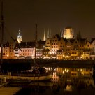 Gdańsk by night