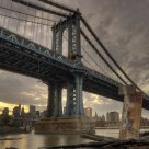 Manhattan Bridge & Graffiti
