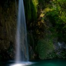 waterfall at Plitvice