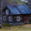 An old abandoned house in Lom / Norway