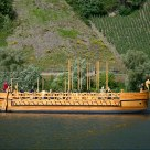 Roman ship on the Mosel river