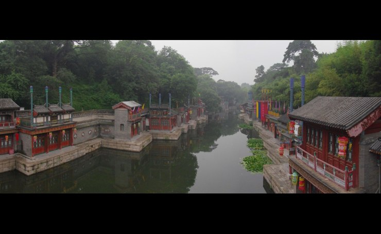 Suzhou Market Street in the Summer Palalce, Beijing  (頤和園蘇州街)