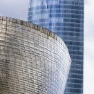 Guggenheim museum and building of Iberdrola (Bilbao)