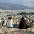 Athens underfoot