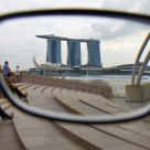 Marina Bay Sands through my glases