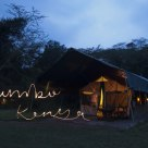 Jambo, Kenya! Hello, Kenya! (light-drawing)