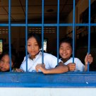 Cambodian School Children