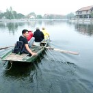 Foot Rower of Tam Coc, Vietnam