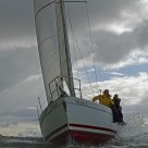 Yacht Race with Force Seven Wind