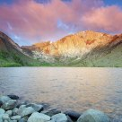 Sunrise Color At Convict Lake