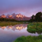 Sunrise at Schwabachers Landing