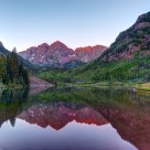 Maroon Bells - First Light