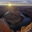 Sunset Over Horseshoe Bend