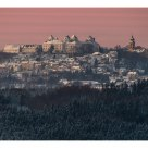 Augustusburg hunting lodge in the morning