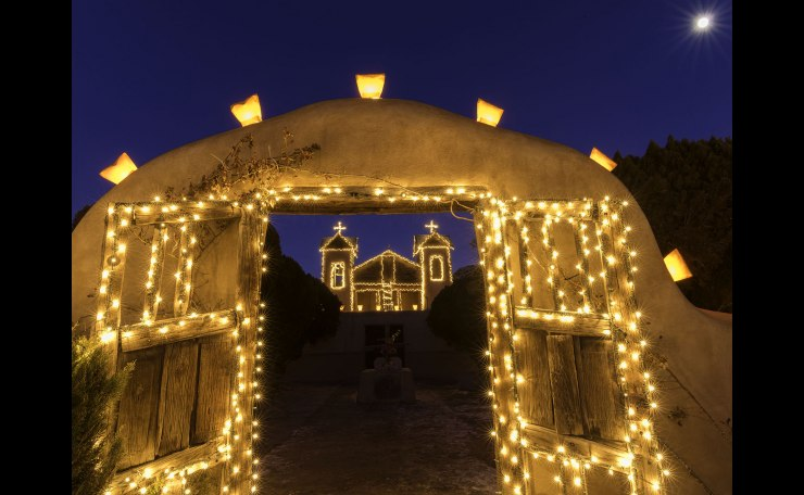 Christmas Season at Chimayo