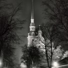 Evening in the Peter and Paul Fortress.