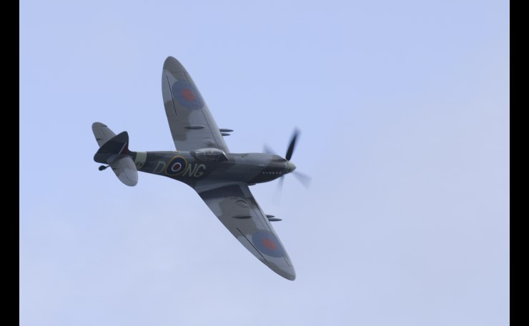 Supermarine Spitfire Mk.XVI; pure beauty