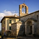 Church in San Quirico d'Orcia