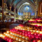 Cathedral with Candles