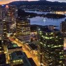 Vancouver Night Overlook