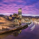 Sunset in Bilbao